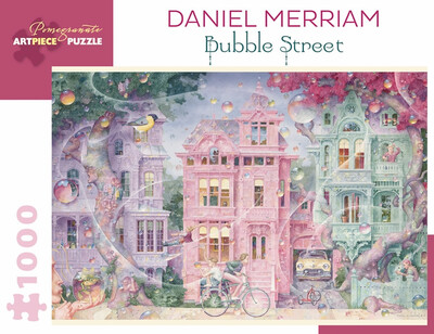 Daniel Merriam Bubble Street 1000 pc. Puzzle
