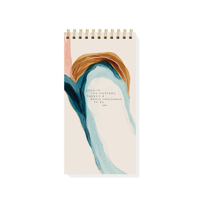 Mystery Spiral Notepad