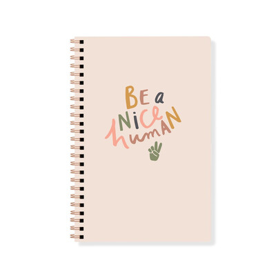Be A Nice Human Journal