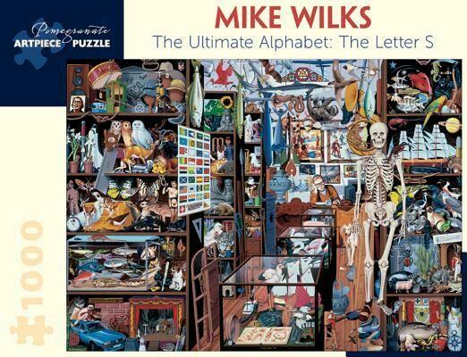 Mike Wilks Ultimate Alphabet: Letter S 1000 pc. Puzzle