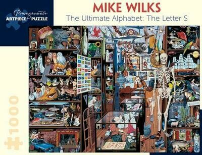 Mike Wilks Ultimate Alphabet: Letter S 1000 pc. Puzzle