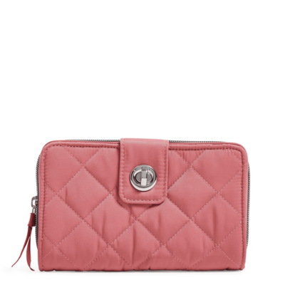 Iconic RFID Turnlock Wallet Strawberry Ice