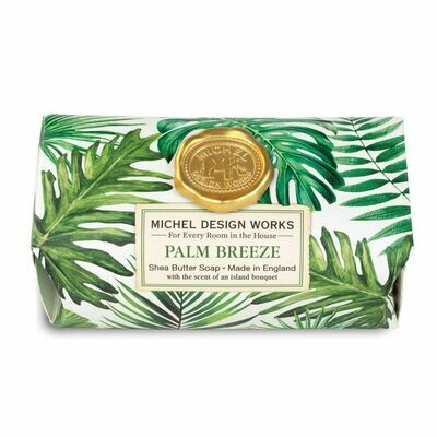 Palm Breeze Bath Soap Bar