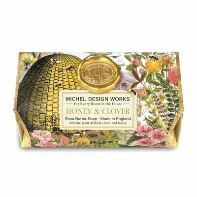 Honey and Clover Bath Soap Bar