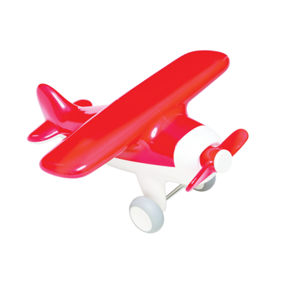 Cherry Red Air Plane