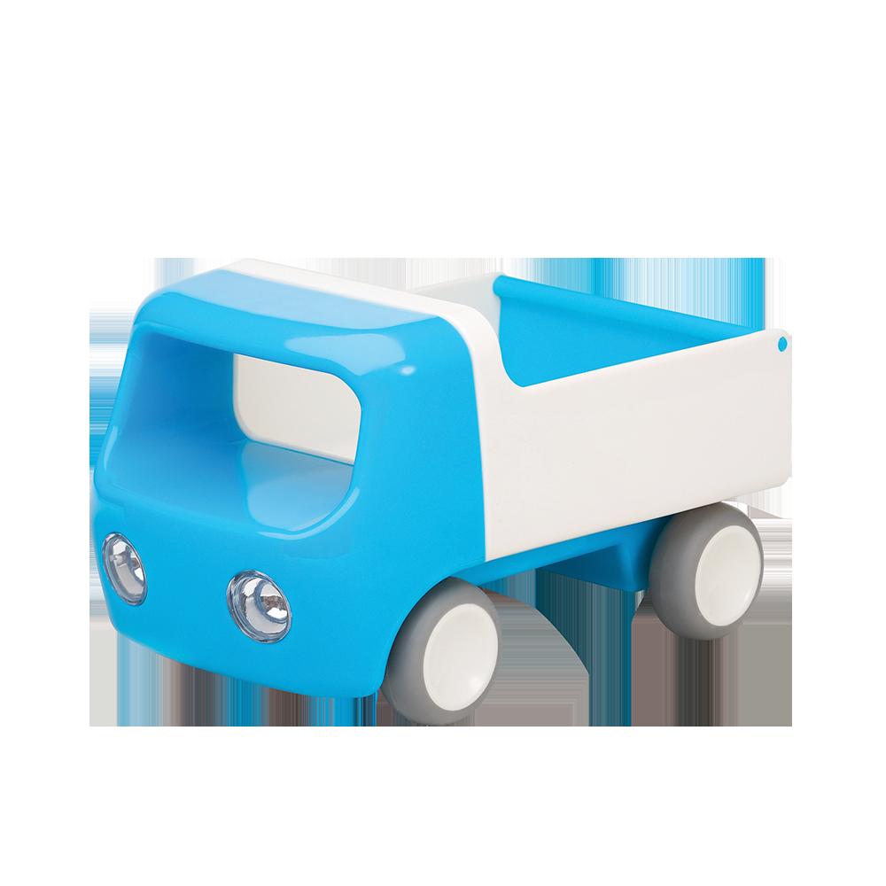 Aqua Blue Tip Truck