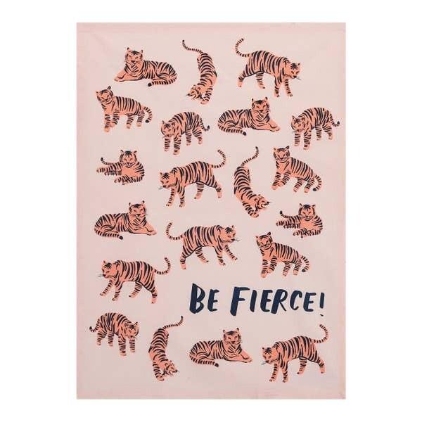 Be Fierce Kitchen Towel