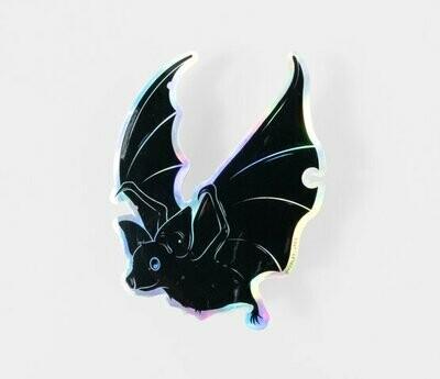 Holographic Bat Sticker