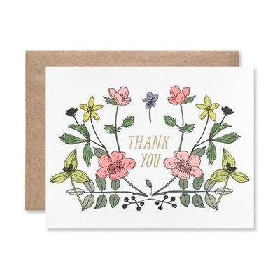 Thank You Floral Array