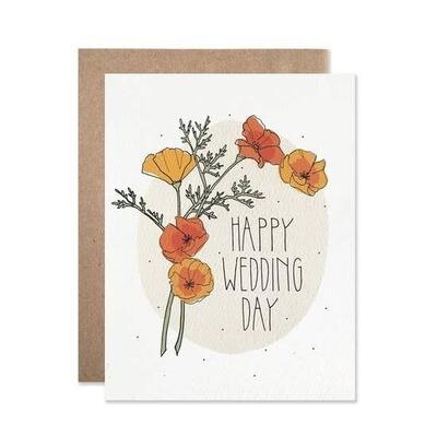 Wedding Day Poppies