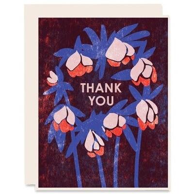 Blue Orange Thank You