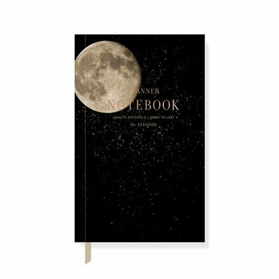 Canvas Full Moon Undated Planner