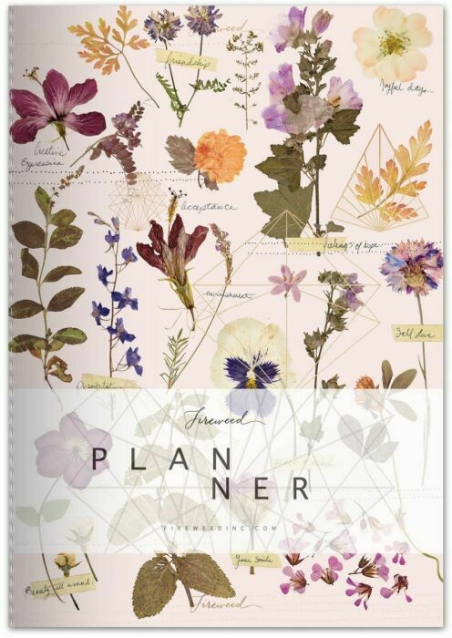 Fireweed Love Garden Dateless Planner