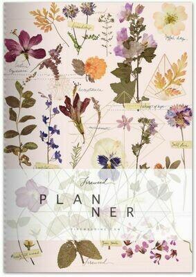 Fireweed Love Garden Dateless Planner