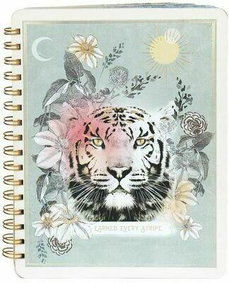 Earned Every Stripe Spiral Notebook