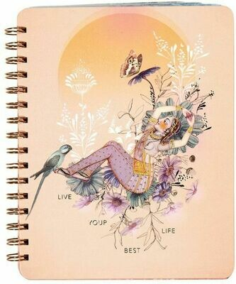 Live Your Best Life Spiral Notebook