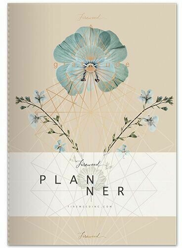 Fireweed Gratitude Dateless Planner