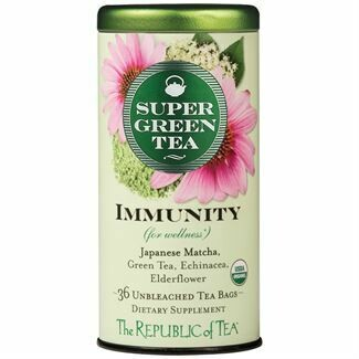 Immunity Super Green Tea Bags