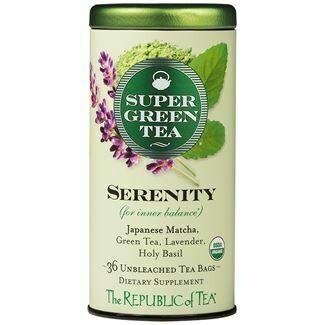 Serenity Green Tea Bags