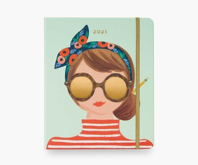 2021 17 Month Type A Planner