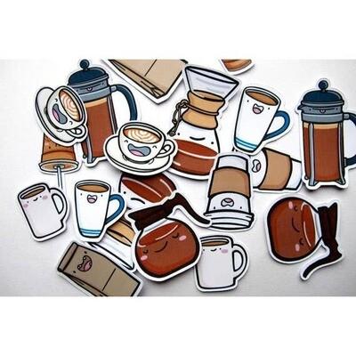 Coffee Dudes Sticker Pack