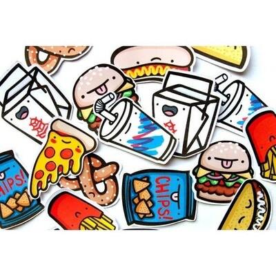 Junk Food Sticker Pack