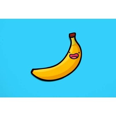 Banana Vinyl Sticker