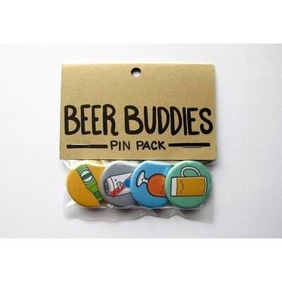 Beer Buddies Pin Pack