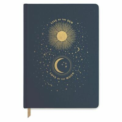 Live by the Sun Love by the Moon Large Journal