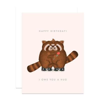 Happy Birthday! I Owe You a Hug