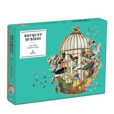 Bouquet of Birds 750 pc Puzzle