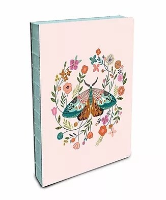 Floral Moth Coptic Bound Journal