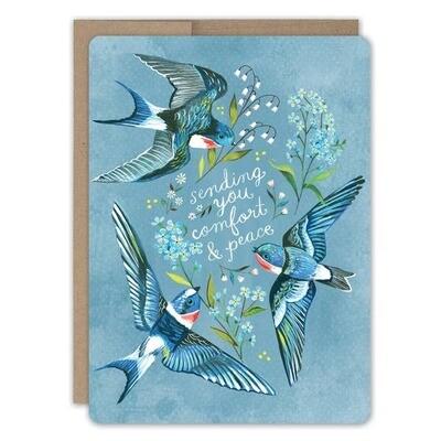 Comfort & Peace Sympathy Card