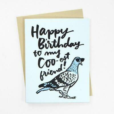 Happy Birthday to My Coo-est Friend