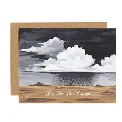 This Too Shall Pass Sympathy Card
