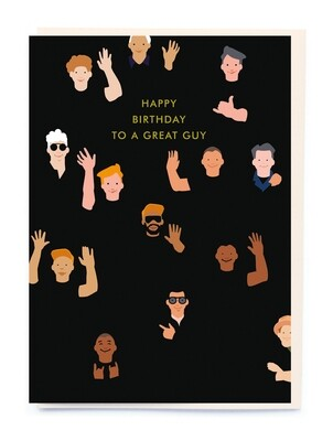 Great Guy Birthday