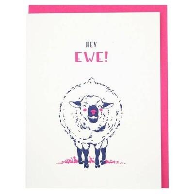 Hey Ewe Card