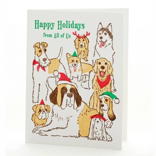 Dog Holiday Greetings