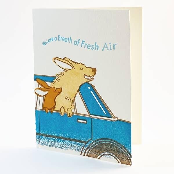 Breath of Fresh Air Card