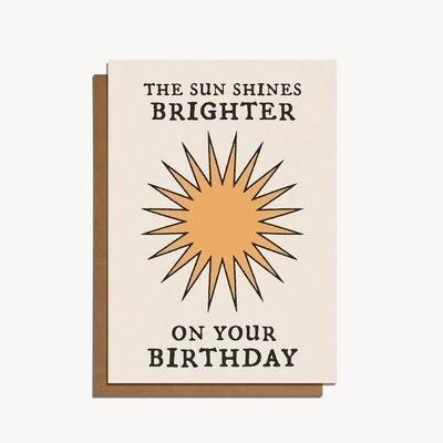 Brighter Sun Birthday