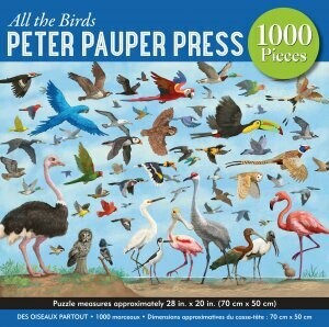 All The Birds 1000 Piece Puzzle