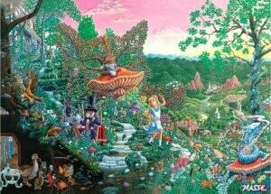 Wonderland 1000 Piece Puzzle