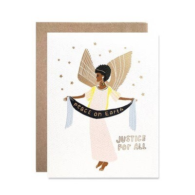 Peace on Earth, Justice for All Card