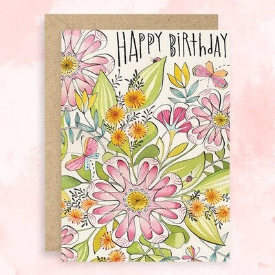 Floral Explosion Card