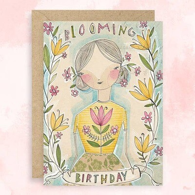 Blooming Birthday Card
