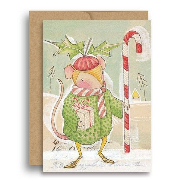 Christmas Mouse Card