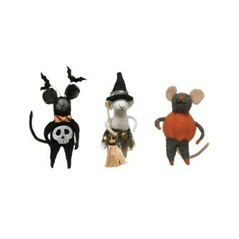 Mouse in Witch Costume