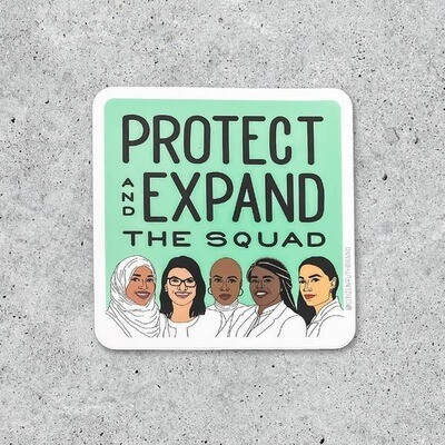 Protect the Squad Sticker