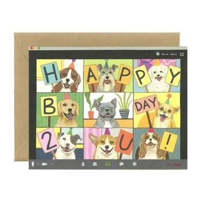 Dog Zoom Birthday