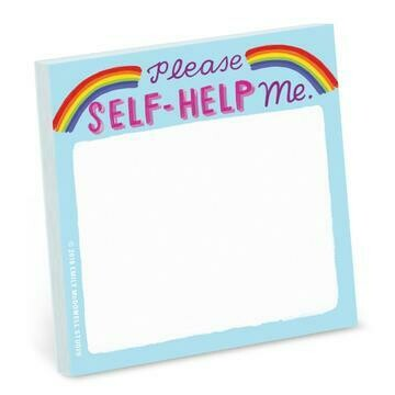 Self Help Me Sticky Note